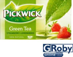 Pickwick Zöld Tea Eper És Citromfű 20 filter