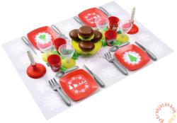 Ecoiffier Karácsonyi étkészlet