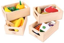 Bigjigs Toys Egészséges Étkezés - Tejtermékek