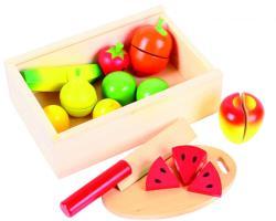 Bigjigs Toys Gyümölcsszeletelő Játék