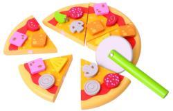 Bigjigs Toys Pizzaszeletek, Feltétekkel