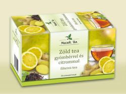 Mecsek-Drog Kft Zöld Tea Gyömbérrel És Citrommal 20 filter