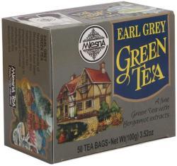 MlesnA Zöld Tea Earl Grey Ízesítéssel 100 g 50 filter