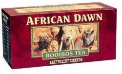African Dawn Rooibos Tea Feketeribizli 40 filter