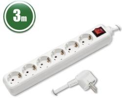Delight 6 Plug 3m Switch (20231)