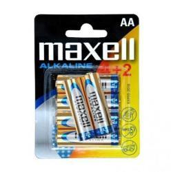 Maxell AA Alkaline LR6 (4+2)