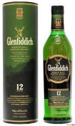 Glenfiddich 12 Years Whiskey 0,35L 40%