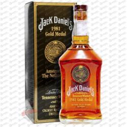 Jack Daniel's 1981 Gold Medal Whiskey 1L 43%