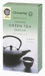 Clearspring Bio Sencha Zöld Tea 20 filter