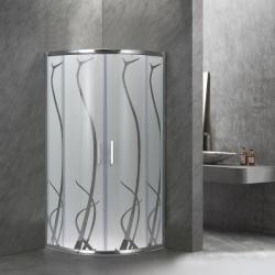 Leziter Spirit Bamboo 90x90x180 cm íves (SB90S)