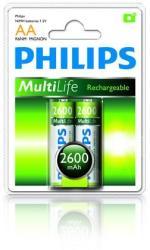 Philips AA 2600mAh (2) R6B2A260
