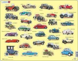 Larsen Oldtimer autók 30 db-os AK1