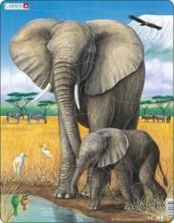 Larsen Elefántok 32 db-os D8