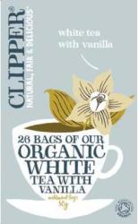 Clipper Fehér Tea Vaníliával 26 filter