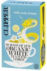 Clipper Fehér Tea Citrommal 26 filter