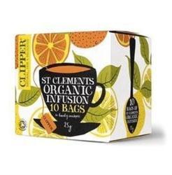 Clipper Mandarin-citrom Tea 10 filter