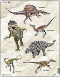 Larsen Dinoszauruszok 30 db-os (X12)