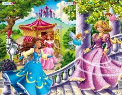 Larsen Midi puzzle - Hercegnők 11 db-os U8