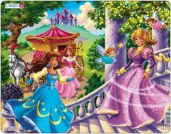Larsen Maxi puzzle - Hercegnők 24 db-os US10