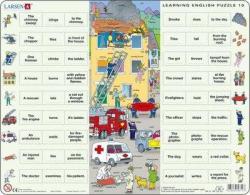 Larsen Tanuljunk angolul: Tűzoltás 54 db-os EN10
