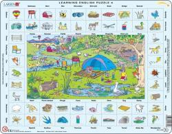 Larsen Tanuljunk angolul: Kirándulás 70 db-os EN4