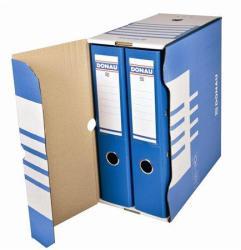 DONAU Archiváló doboz 155 mm A4 karton kék (76633K)