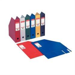 Esselte Vivida Iratpapucs 100 mm összehajtható PP/karton piros (56073)