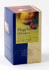 SONNENTOR Csipkebogyó Hibiszkusz Tea 18 filter