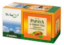 Dr. Tea Papaya Zöld Tea 20 filter