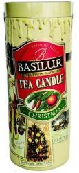 BASILUR Christmas Candle Fekete Teakülönlegesség 100 g