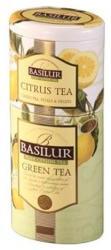 BASILUR Citrus Zöld Tea 2in1 Zöld Tea Keverék 125 g