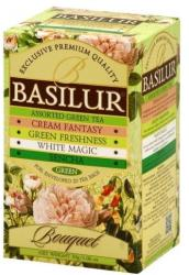 BASILUR Bouquet Assorted Zöld Tea Keverék 20 filter