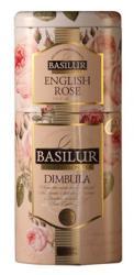 BASILUR English Rose/dimbula 2in1 Fekete Tea Keverék 125 g