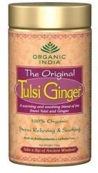 Organic India Ginger Szálas Tea Fémdobozban 100g