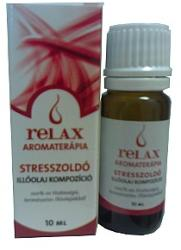 Relax Stresszoldó Illóolaj 10ml