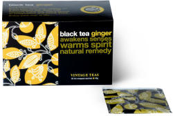 Vintage Teas Fekete Tea Gyömbér 30 filter