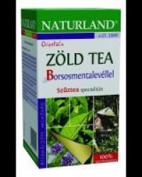 Naturland Zöld Tea Borsosmenta Levéllel 20 filter