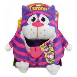 Jay@Play Tummy Stuffers Tömzsák állatka - Neon cica (TUM84501)