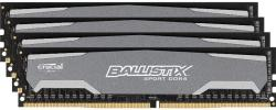 Crucial 16GB (4x4GB) DDR4 2400MHz BLS4C4G4D240FSA