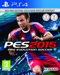Konami PES 2015 Pro Evolution Soccer [Day One Edition] (PS4)