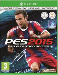 Konami PES 2015 Pro Evolution Soccer [Day One Edition] (Xbox One)