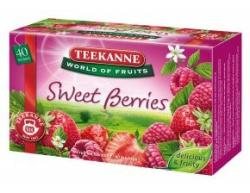 TEEKANNE Sweet Berries Eper És Málna Tea 40 filter