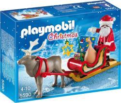 Playmobil Mikulás rénszarvas-szánnal (5590)