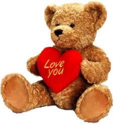 Keel Toys Freddie mackó szívvel - 25cm