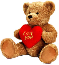 Keel Toys Freddie mackó szívvel - 30cm