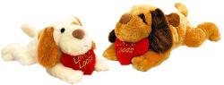 Keel Toys Fekvő kutya szívvel - 30cm, 2 változatban