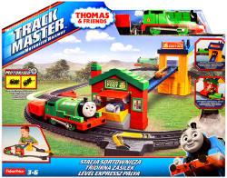 Mattel Fisher-Price Thomas Track Master Percy Levél expressz pálya (BHY57)