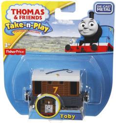 Mattel Fisher-Price Thomas Take-n-Play Toby mozdony R9840