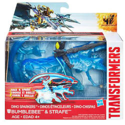 Hasbro Transformers Age of Extinction - Bumblebee és Strafe A6495