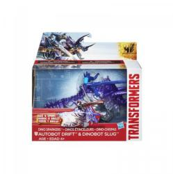 Hasbro Transformers Age of Extinction - Autobot Drift és Dinobot Slug A7681